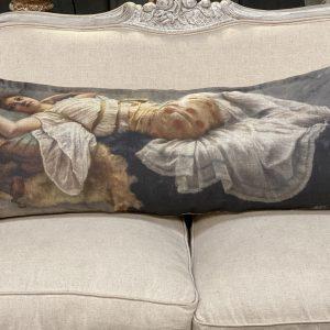 Linen Long Pillows